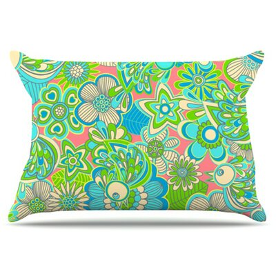 Welcome Birds To My Garden Pillowcase Size: King