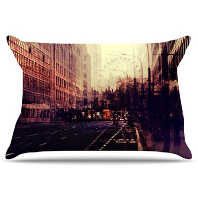 London Pillowcase Size: King