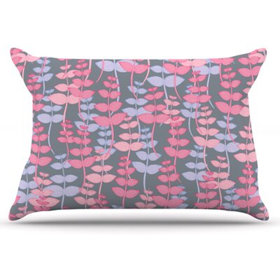My Leaves Garden Pillowcase Size: King