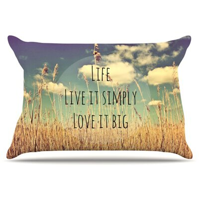Life Pillowcase Size: Standard