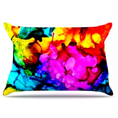 Sweet Sour Pillowcase Size: Standard