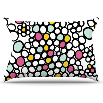 Pebbles Pillowcase Size: Standard, Color: Pink