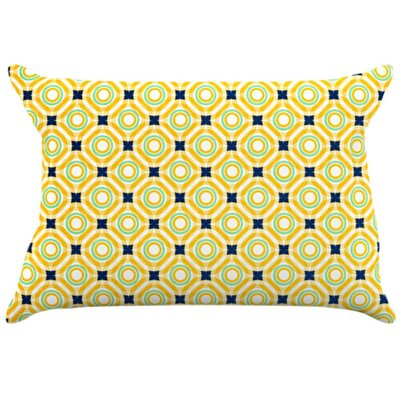 Tossing Pennies II Pillowcase Size: Standard