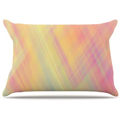 Pastel Abstract Pillowcase Size: Standard