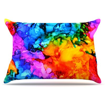 Sweet Sour II Pillowcase Size: King