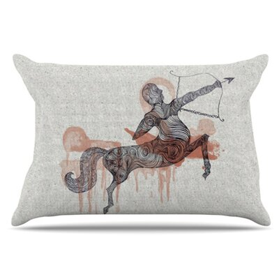 Sagittarius Pillowcase Size: King
