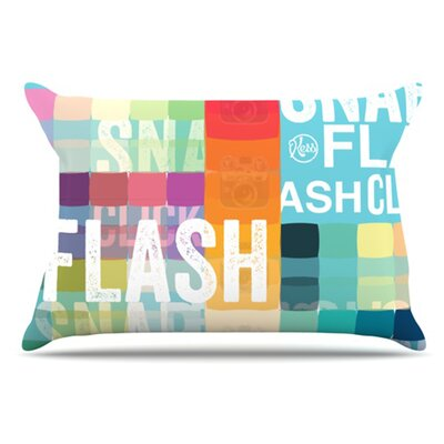 Flash Pillowcase Size: King