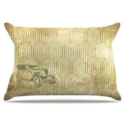 Deco Car Pillowcase Size: King