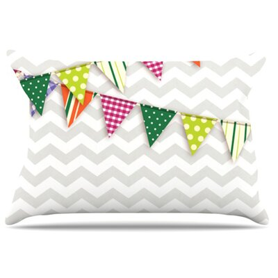 Flags 1 Pillowcase Size: King