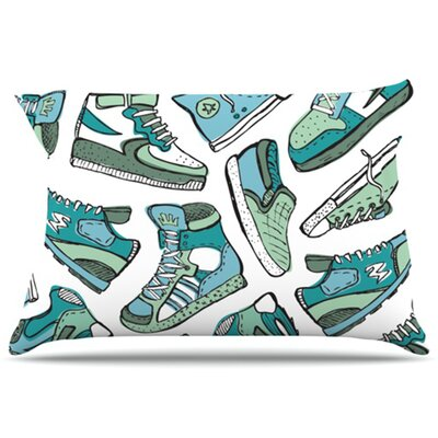 Sneaker Lover III Pillowcase Size: Standard