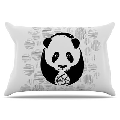 Panda Pillowcase Size: Standard