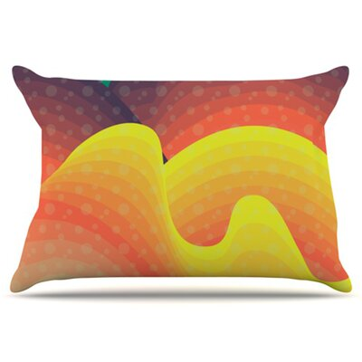 Waves, Waves Pillowcase Size: King