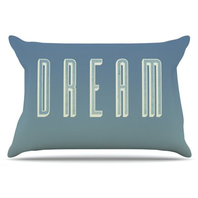 Dream Print Pillowcase Size: King
