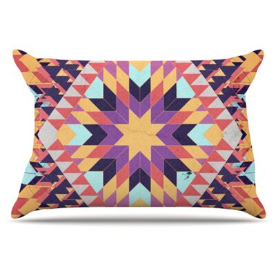 Ticky Ticky Pillowcase Size: King
