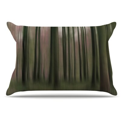 Forest Blur Pillowcase Size: Standard