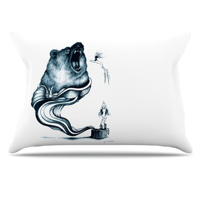 Hot Tub Hunter Pillowcase Size: King