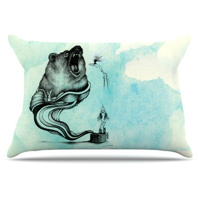 Hot Tub Hunter III Pillowcase Size: King