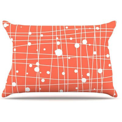 Woven Web I Pillowcase Size: Standard