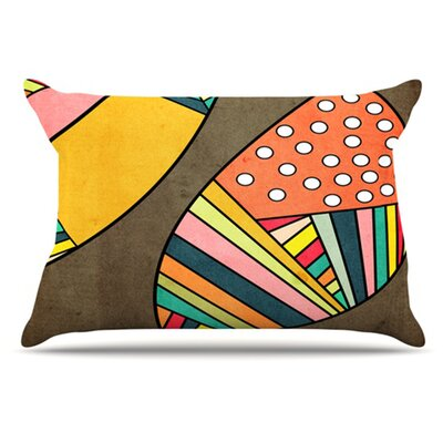 Cosmic Aztec Pillowcase Size: King