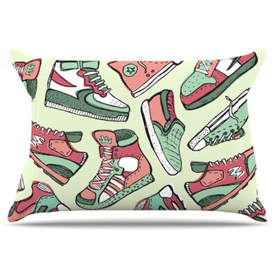Sneaker Lover II Pillowcase Size: Standard