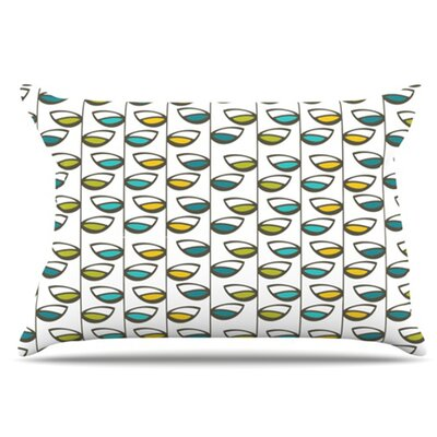 Spring Stem Pillowcase Size: King