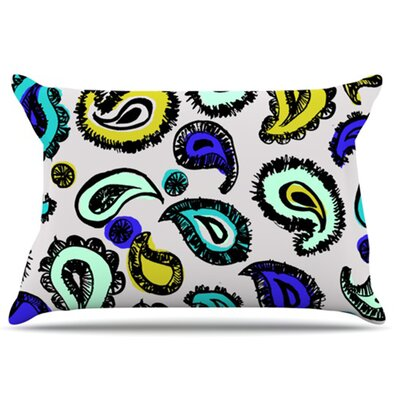 Pillowcase Color: Blue Fun, Size: King