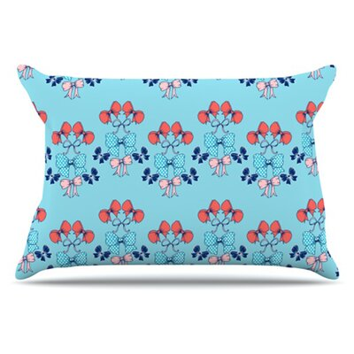 Bows Pillowcase Size: King