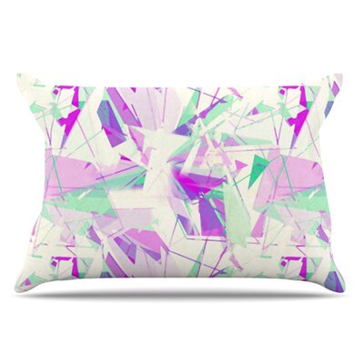 Shatter Pillowcase Size: Standard, Color: Purple
