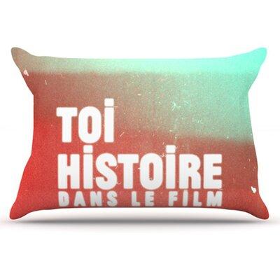 Toi Histoire Pillowcase Size: King