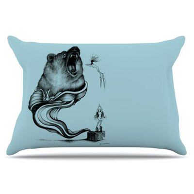 Hot Tub Hunter II Pillowcase Size: King