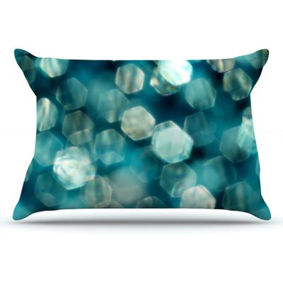 Shades of Blue Pillowcase Size: King