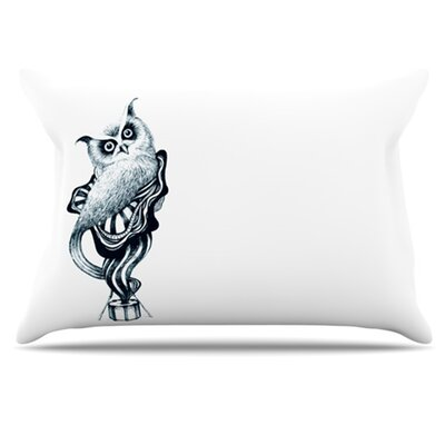Owl Pillowcase Size: Standard