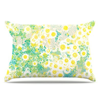 Myatts Meadow Pillowcase Size: King