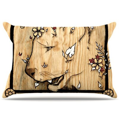 Panther Pillowcase Size: King