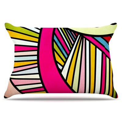 Fake Colors Pillowcase Size: King