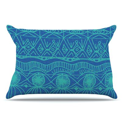 Beach Blanket Confusion Pillowcase Size: Standard