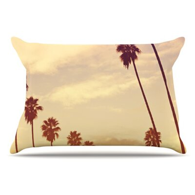 Endless Summer Pillowcase Size: King