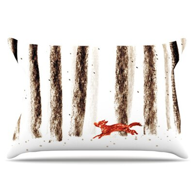 Run and Roam Pillowcase Size: King