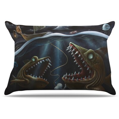 Sink or Swim Pillowcase Size: Standard
