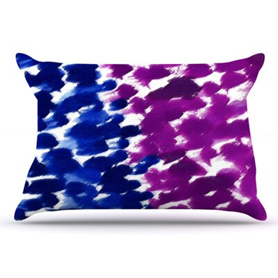 Fleeting Pillowcase Size: Standard, Color: Blue