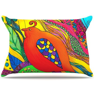 Psycho-Delic Dan Pillowcase Size: King