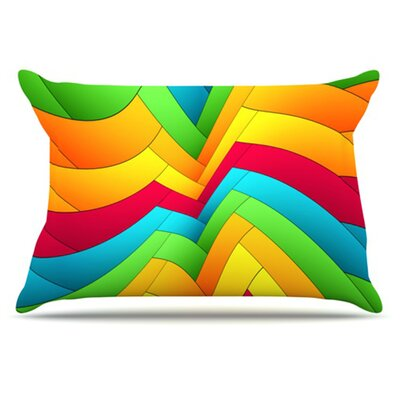 Olympia Pillowcase Size: Standard
