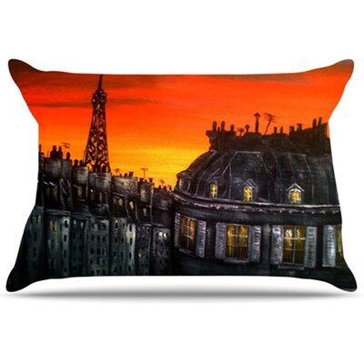 Paris Pillowcase Size: King