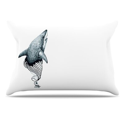 Shark Record Pillowcase Size: Standard