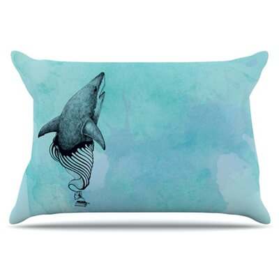 Shark Record III Pillowcase Size: King