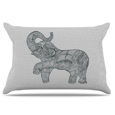 Elephant Pillowcase Size: King