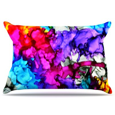 Indie Chic Pillowcase Size: King