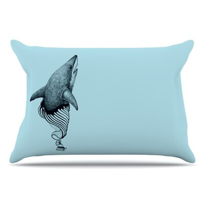 Shark Record II Pillowcase Size: King