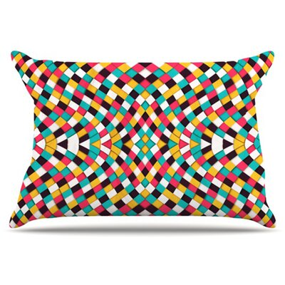 Retro Grade Pillowcase Size: King