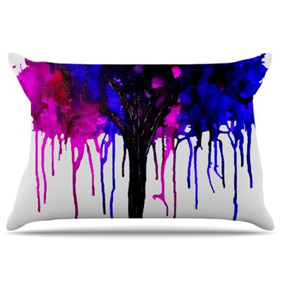 Weeping Willow Pillowcase Size: King